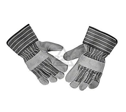 Перчатки спилковые BOSCH из воловьей кожи