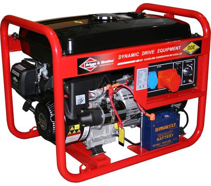 Бензиновый генератор DDE BG6000E-3E