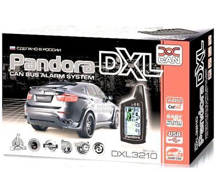 Сигнализация PANDORA De Luxe 3210 can