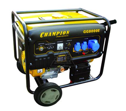 Бензиновый генератор CHAMPION GG8000E