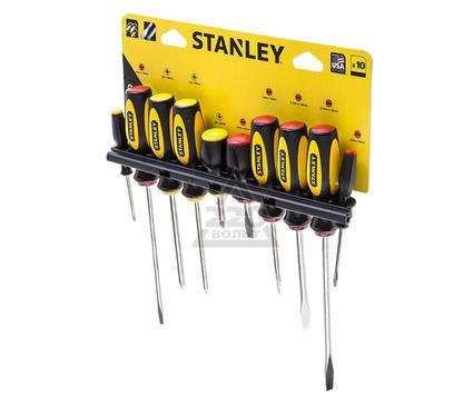 Набор отверток, 10 шт. STANLEY BASIC 0-60-100