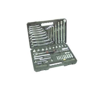 Набор торцевых головок с принадлежностями в пластиковом кейсе, 80 предметов AIST Master 308180D-M