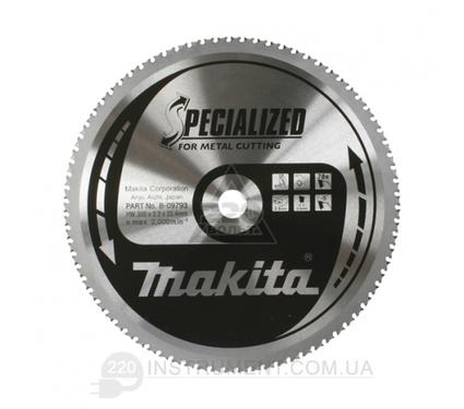 Диск пильный твердосплавный MAKITA 305 X 78 X 25.4 по металлу
