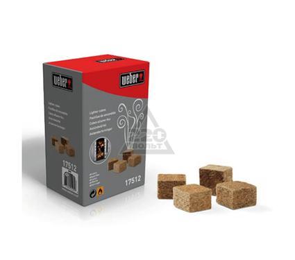 Сухое средство для розжига WEBER 17512 (кубики)
