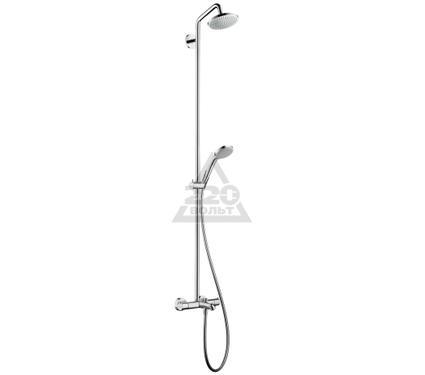 Стойка душевая HANSGROHE Croma 100 EcoSmart Showerpipe 27144000