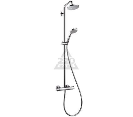 Душевая система HANSGROHE Croma 100 EcoSmart Showerpipe 27159000