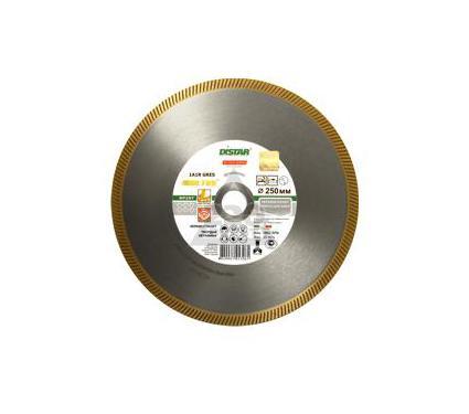 Круг алмазный DI-STAR 1A1R GRES ULTRA RP25T 257631 180 Х 25.4