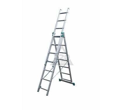 Лестница алюминиевая 3 х секционная ITOSS 7607