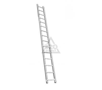 Лестница алюминиевая приставная RIGGER 101115