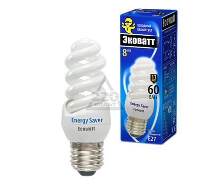 Лампа энергосберегающая ECOWATT M-FSP 11W840 E27