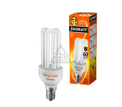 Лампа энергосберегающая ECOWATT Mini 3U 11W 827 E14