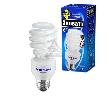 Лампа энергосберегающая ECOWATT SP 15W 840 E27