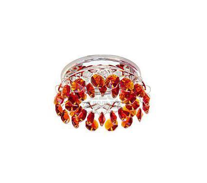 Светильник встраиваемый АКЦЕНТ Crystal 540 хром/янтарь