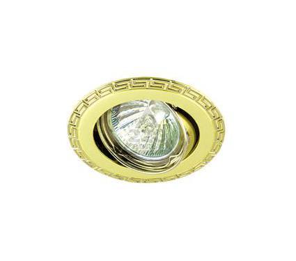 Светильник встраиваемый АКЦЕНТ Versace 16159BA золото