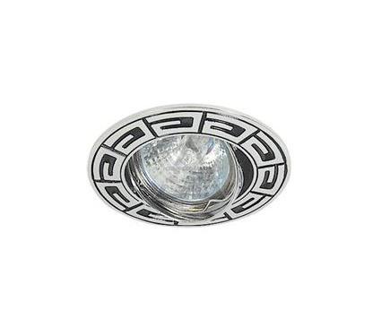 Светильник встраиваемый АКЦЕНТ Versace WL-650 хром/чёрный