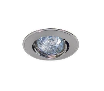 Светильник встраиваемый АКЦЕНТ 103GQ матовый никель/хром