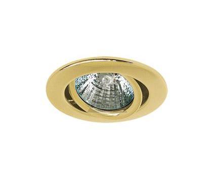 Светильник встраиваемый АКЦЕНТ 113AA золото