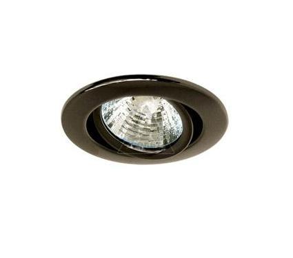 Светильник встраиваемый АКЦЕНТ 113AA чёрный никель
