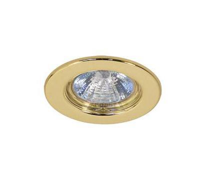 Светильник встраиваемый АКЦЕНТ WL-218 золото