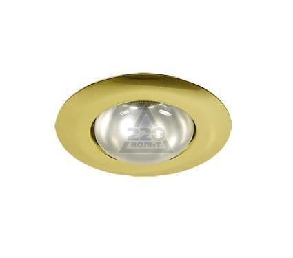 Светильник встраиваемый АКЦЕНТ WL-271 золото