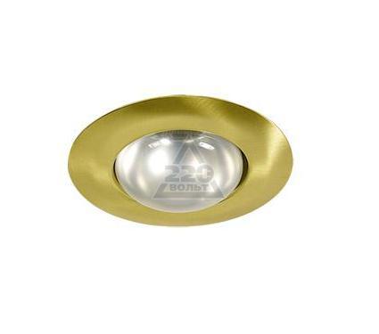 Светильник встраиваемый АКЦЕНТ WL-271 матовое золото