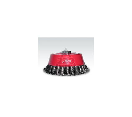 Кордщетка ATAKA 65мм М14, чашеообразная витая