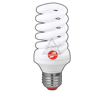 Лампа энергосберегающая ЭКОНОМКА 25Ватт 2700К Е27 Т3