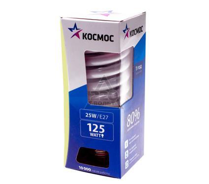 Лампа энергосберегающая КОСМОС 25Ватт 2700К Е27 Т2 67529