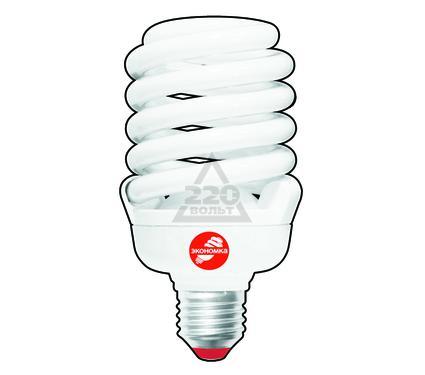 Лампа энергосберегающая ЭКОНОМКА 35Ватт 2700К Е27 Т3