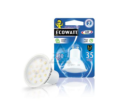 Лампа светодиодная ECOWATT GU10 220В 3.2(35)W 4000K GU10