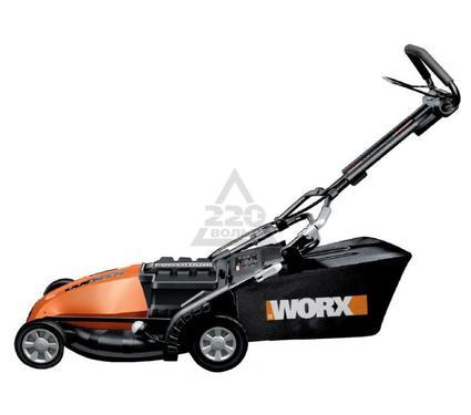 Аккумуляторная газонокосилка WORX WG780E