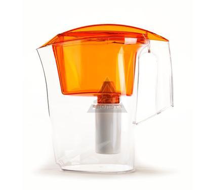 Фильтр-кувшин для жесткой воды ГЕЙЗЕР Дельфин Ж оранжевый