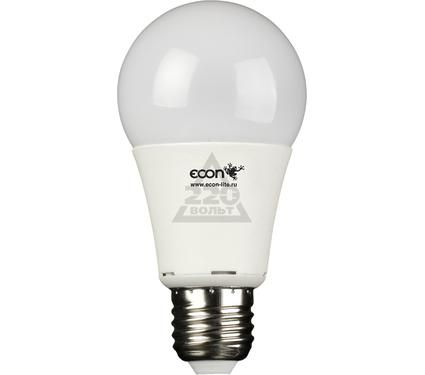 Лампа светодиодная ECON LED A 8Вт E27  3000K A60