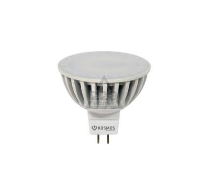 Лампа светодиодная КОСМОС LED MR16/ст. 5Вт 12В GU5.3  3000K