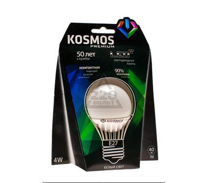 Лампа светодиодная КОСМОС LED 4Вт A50 E27 230v 4500K