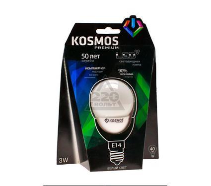 Лампа светодиодная КОСМОС LED 6Вт A55 E27 230v 4500K