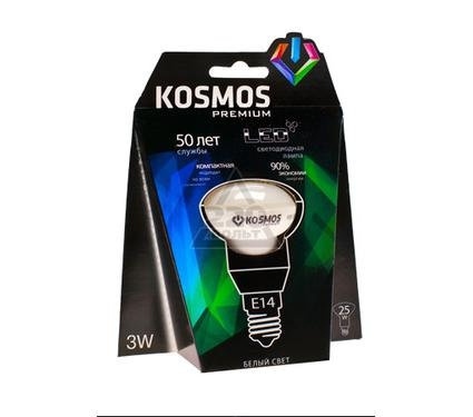 Лампа светодиодная КОСМОС LED 3Вт R39 E14 230v 4500K
