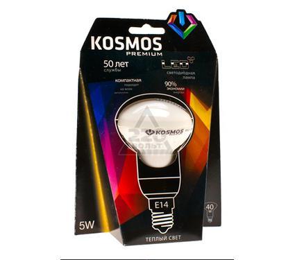 Лампа светодиодная КОСМОС LED 5Вт R50 E14 230v 3000K