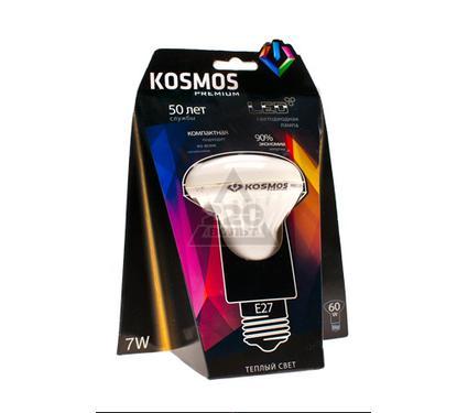 Лампа светодиодная КОСМОС LED 7Вт R63 E27 230v 3000K