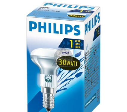 Лампа накаливания PHILIPS Spot R39 30W E14  45°