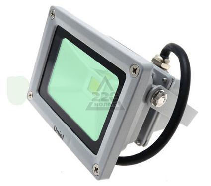 Прожектор светодиодный UNIEL ULF-S01-10W/GREEN