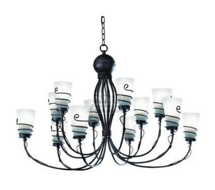 Люстра ARTE LAMP SPIRAL A9051LM-12BR