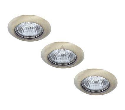 Светильник встраиваемый ARTE LAMP PRAKTISCH A1203PL-3AB