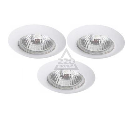 Светильник встраиваемый ARTE LAMP PRAKTISCH A1203PL-3WH