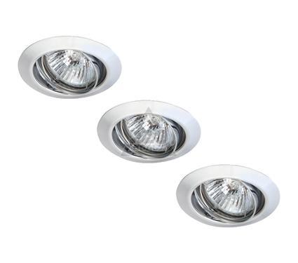 Светильник встраиваемый ARTE LAMP PRAKTISCH A1213PL-3CC