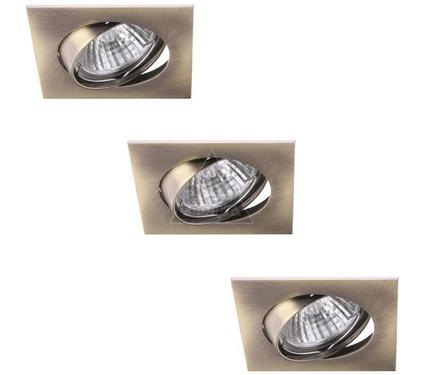 Светильник встраиваемый ARTE LAMP QUADRATISCH A2118PL-3AB