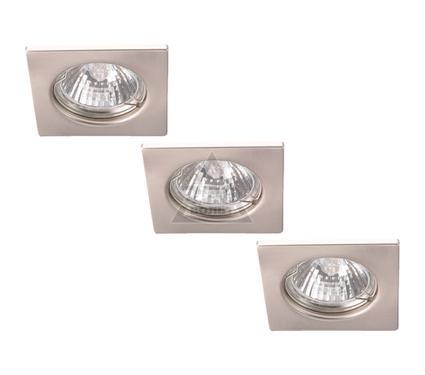 Светильник встраиваемый ARTE LAMP QUADRATISCH A2210PL-3SS
