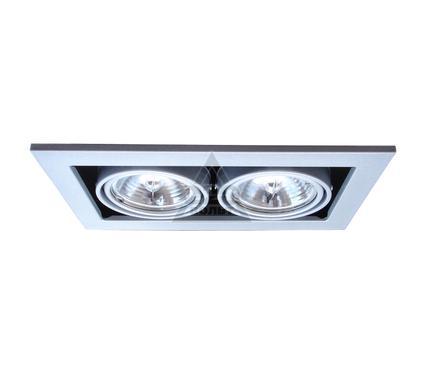 Светильник встраиваемый ARTE LAMP TECHNIKA A5930PL-2SI