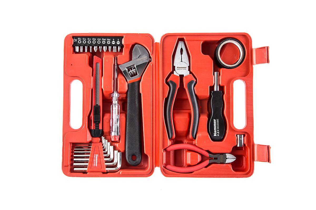 Набор инструментов hammer 601-040