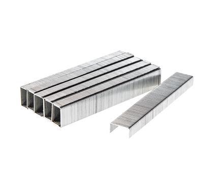 Скобы для степлера HAMMER Скобы закален. 6мм, сечение 0,75мм, длина 11,3мм (тип 53)